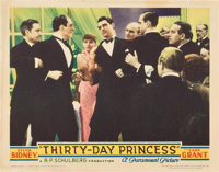 "Thirty Day Princess (Paramount, 1934). Lobby Cards (3) (11"" X 14""). ... (Total: 3 Items)"