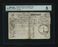 Colonial Notes:South Carolina, South Carolina June 1, 1775 £10 PMG Very Good 8 NET....