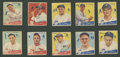 Baseball Cards:Lots, 1934 R320 Goudey Baseball Collection (26 Different) With 10 High Numbers. ...