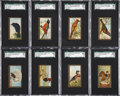 "Non-Sport Cards:Sets, 1910-11 T42 Mecca ""Birds Series"" Gold Border Complete Run (50). ..."
