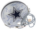 Football Collectibles:Helmets, 1980's-90's Dallas Cowboys Hall of Famers & Legends SignedHelmet....
