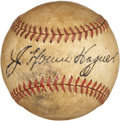 Autographs:Baseballs, Circa 1940 Honus Wagner Single Signed Baseball....