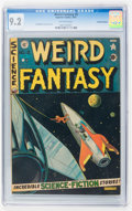 Golden Age (1938-1955):Science Fiction, Weird Fantasy #9 Canadian edition (EC, 1951) CGC NM- 9.2 Off-whitepages....