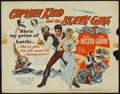 "Movie Posters:Adventure, Captain Kidd and the Slave Girl (United Artists, 1954). Lobby CardSet of 8 (11"" X 14""). Adventure.. ..."
