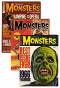 Magazines:Horror, Famous Monsters of Filmland Magazine Box Group (Warren, 1966-83) Condition: Average FN/VF....