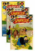 Golden Age (1938-1955):Miscellaneous, Sparkler Comics Group - Rockford pedigree (United Features Syndicate, 1949-50) Condition: Average VF/NM.... (Total: 11 Comic Books)