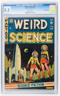 Golden Age (1938-1955):Science Fiction, Weird Science #7 Canadian edition (EC, 1951) CGC VF+ 8.5 Off-whitepages....