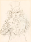 Mainstream Illustration, NORMAN MINGO (American, 1896-1980). I Want, Too, Mad mini-posterpreliminary drawing, 1976. Pencil on vellum. 15.75 x 11...(Total: 2 Items Items)