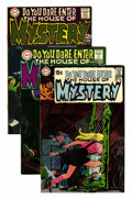 Bronze Age (1970-1979):Horror, House of Mystery Group (DC, 1968-72) Condition: Average VF....(Total: 6 Comic Books)