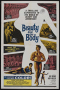 "Movie Posters:Documentary, Beauty and the Body (Manson Distributing, 1963). One Sheet (27"" X 41""). Documentary. Starring Kip Behar, Judy Miller. Direct..."