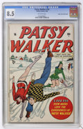 Golden Age (1938-1955):Romance, Patsy Walker #16 Mile High pedigree (Atlas, 1948) CGC VF+ 8.5 Off-white pages....