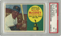 Baseball Cards:Singles (1960-1969), 1960 Topps Willie McCovey All-Star Rookie #316 PSA NM 7.Cooperstown enshrinee and 500 Home Run Club member Willie McCovey...
