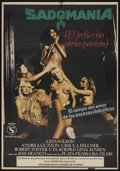 "Movie Posters:Sexploitation, Sadomania (Golden Era Film Distributors, 1981). Spanish One Sheet(27.5"" X 38""). Sexploitation. Starring Ajita Wilson, Andre..."