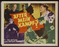 """Movie Posters:War, After Mein Kampf? (Crystal Pictures, 1940). Title Lobby Card (11"""" X14""""). War. Starring Robert Beatty, Herbert Lom, Peter Us..."""
