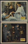 """Movie Posters:War, This Above All (20th Century Fox, 1942). Lobby Cards (2) (11"""" X14""""). War. Starring Tyrone Power, Joan Fontaine, Thomas Mitc...(Total: 2)"""