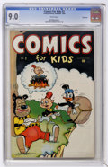 Golden Age (1938-1955):Funny Animal, Comics for Kids #2 Vancouver pedigree (Timely, 1945) CGC VF/NM 9.0White pages....
