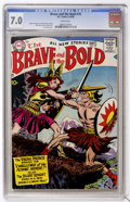 Silver Age (1956-1969):Adventure, The Brave and the Bold #19 (DC, 1958) CGC FN/VF 7.0 White pages....