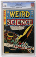 Golden Age (1938-1955):Science Fiction, Weird Science #5 (EC, 1951) CGC VG- 3.5 Light tan to off-whitepages....