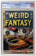 Golden Age (1938-1955):Science Fiction, Weird Fantasy #11 (EC, 1952) CGC FN- 5.5 Light tan to off-whitepages....