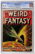 Golden Age (1938-1955):Science Fiction, Weird Fantasy #10 (EC, 1951) CGC VG- 3.5 Light tan to off-whitepages....