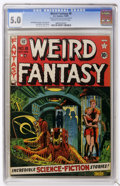 Golden Age (1938-1955):Science Fiction, Weird Fantasy #8 (EC, 1951) CGC VG/FN 5.0 Cream to off-whitepages....