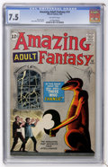 Silver Age (1956-1969):Mystery, Amazing Adult Fantasy #10 (Marvel, 1962) CGC VF- 7.5 Off-whitepages....
