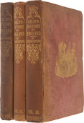 Books:Fiction, Charles Dickens. A Child's History of England. London:Bradbury and Evans, 1852 -1853-1854 .. First edition of... (Total:3 Items)