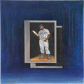 Baseball Collectibles:Others, Josh Gibson Painting....