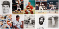 Autographs:Photos, Baseball Stars Signed Photographs Lot of 30....