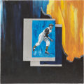 Baseball Collectibles:Others, Roberto Clemente Painting....