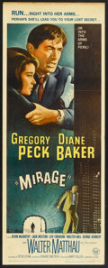 """Movie Posters:Mystery, Mirage (Universal, 1965). Insert (14"""" X 36""""). Mystery.. ..."""