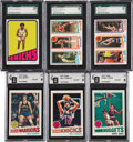 Basketball Cards:Lots, 1972-73 - 1980-81 Topps Basketball Graded Group Lot of 31. ...