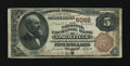 National Bank Notes:Missouri, Springfield, MO - $5 1882 Brown Back Fr. 475 The National ExchangeBank Ch. # 5082. ...