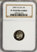 Proof Roosevelt Dimes, 2005-S 10C Clad PR70 Ultra Cameo NGC. PCGS Population (124/0).Numismedia Wsl. Price for NGC/PCGS coin ...