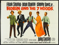 """Movie Posters:Comedy, Robin and the 7 Hoods (Warner Brothers, 1964). British Quad (30"""" X 40""""). Comedy.. ..."""