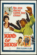 """Movie Posters:Horror, Hand of Death (20th Century Fox, 1962). One Sheet (27"""" X 41""""). Horror.. ..."""