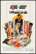 """Movie Posters:James Bond, Live and Let Die (United Artists, 1973). One Sheet (27"""" X 41"""").James Bond.. ..."""