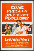 """Movie Posters:Elvis Presley, Loving You (Paramount, 1957). One Sheet (27"""" X 41"""") and Lobby Card(11' X 14""""). Elvis Presley.. ... (Total: 2 Items)"""