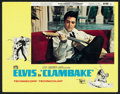 "Movie Posters:Elvis Presley, Clambake Lot (United Artists, 1967). Lobby Cards (4) (11"" X 14"")and Midget Window Cards (2) (9"" X 14""). Elvis Presley.. ... (Total:6 Items)"