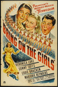 """Movie Posters:Musical, Bring on the Girls (Paramount, 1945). One Sheet (27"""" X 41""""). Musical.. ..."""