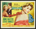 "Movie Posters:Crime, Bedevilled (MGM, 1955). Lobby Card Set of 8 (11"" X 14""). Crime.. ... (Total: 8 Items)"