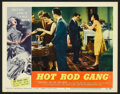 """Movie Posters:Cult Classic, Hot Rod Gang (American International, 1958). Lobby Cards (2) (11"""" X14""""). Cult Classic.. ... (Total: 2 Items)"""