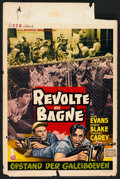 """Movie Posters:Action, Revolt in the Big House (Allied Artists, 1958). Belgian (14"""" X 22""""). Action.. ..."""