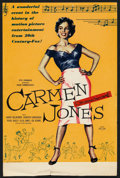 "Movie Posters:Black Films, Carmen Jones (20th Century Fox, 1954). British Crown (10"" X15""),Title Lobby Card (11"" X 17""), Lobby Cards (6) (11"" X 17"") S...(Total: 14 Items)"