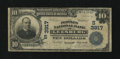 National Bank Notes:Virginia, Leesburg, VA - $10 1902 Plain Back Fr. 626 The Peoples NB Ch. #(S)3917. ...