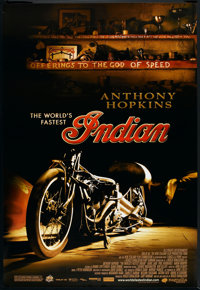 "The World's Fastest Indian (Magnolia Pictures, 2005). One Sheet (27"" X 40""). Adventure"