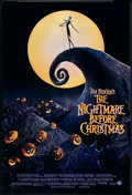 "Movie Posters:Fantasy, The Nightmare Before Christmas (Touchstone, 1993). One Sheet (27"" X 40"")DS. Fantasy.. ..."