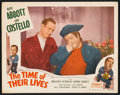 "Movie Posters:Comedy, The Time of Their Lives (Realart, R-1951). Lobby Cards (2) (11"" X14""). Comedy.. ... (Total: 2 Items)"