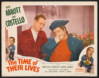 """The Time of Their Lives (Realart, R-1951). Lobby Cards (2) (11"""" X 14""""). Comedy. ... (Total: 2 Items)"""