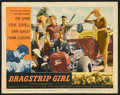 """Movie Posters:Bad Girl, Dragstrip Girl Lot (American International, 1957). Lobby Cards (4)(11"""" X 14""""). Bad Girl.. ... (Total: 4 Items)"""